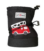 Stonz Booties töppöset - Fire Truck - Black - Töppöset - 6584000120 - 1