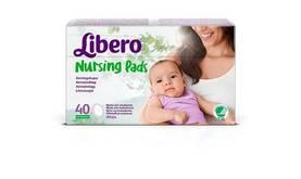Libero Nursing Pads liivinsuojat 40 kpl - Rinnanlämmittimet ja liivinsuojat - 7322540360400 - 2