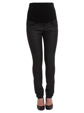 Mamalicious Frey Coated Slim Pant housut - Housut ja haalarit - 63336255500 - 1