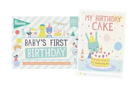 Milestone Booklet Baby's First Birthday - Kortit - 8718564767070 - 1