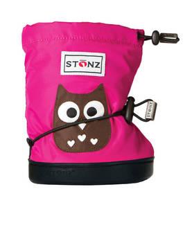 Stonz Booties töppöset - Owl Fuchsia Plus - Töppöset - 4875663020 - 1