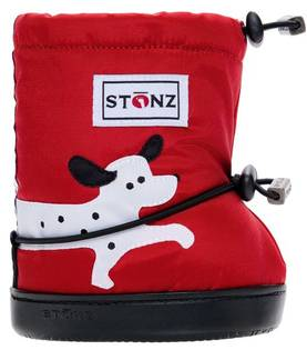 Stonz Booties töppöset 2017 - Dalmation Red Plus - Töppöset - 3658545210