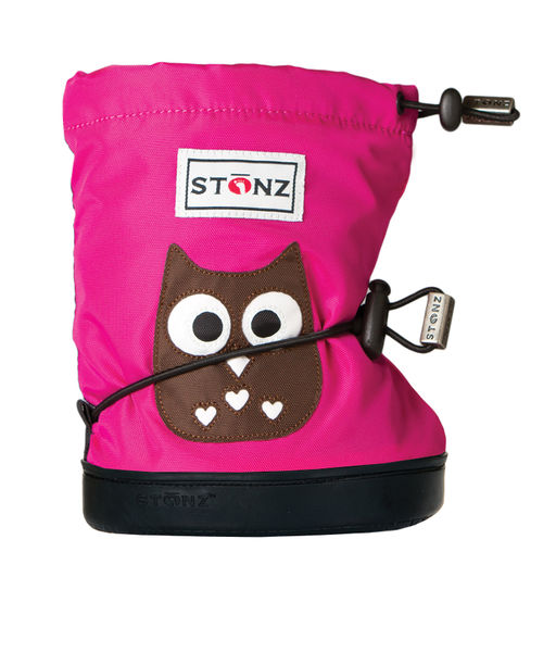 Stonz Booties töppöset 2016 - Owl Fuchsia Plus - Töppöset - 4875663020 - 1