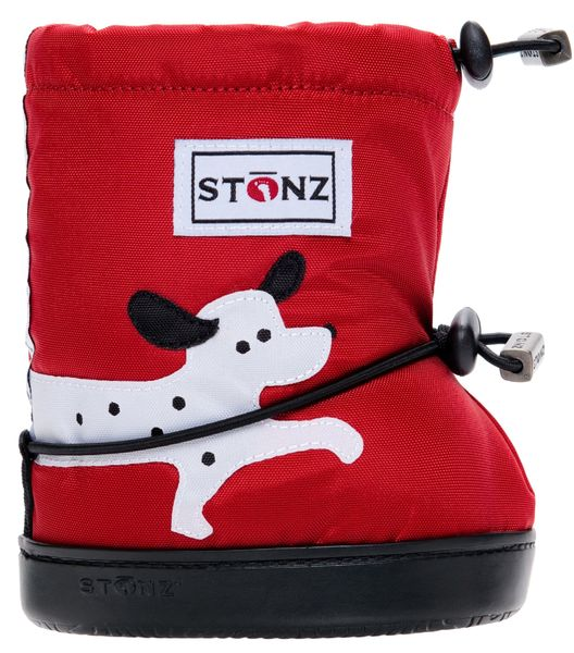 Stonz Booties töppöset 2017 - Dalmation Red Plus - Töppöset - 3658545210 - 1