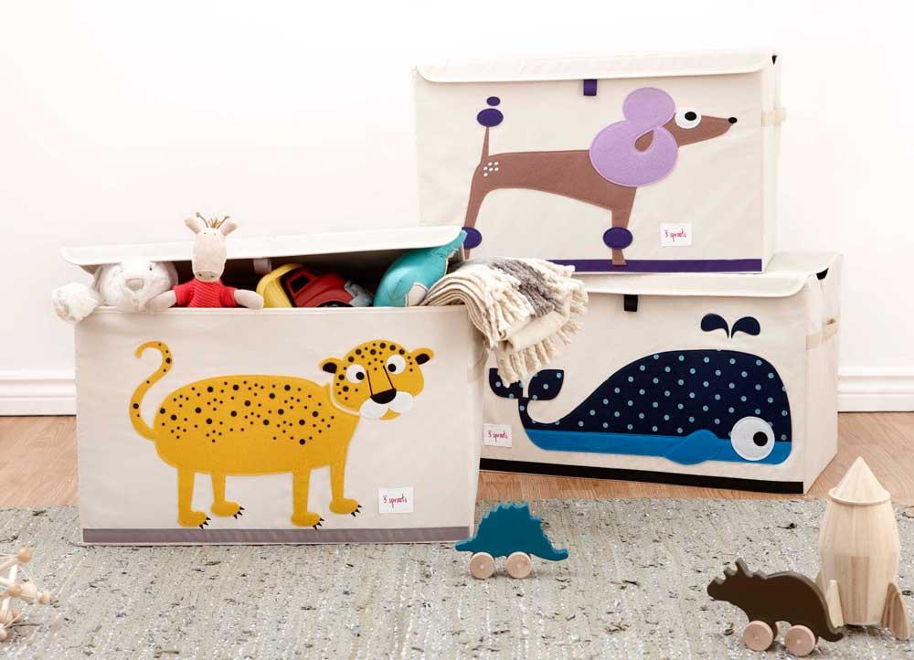 3Sprouts Toy Chest lelulaatikko - Laatikot, korit ja tornit - 4465501001 - 20