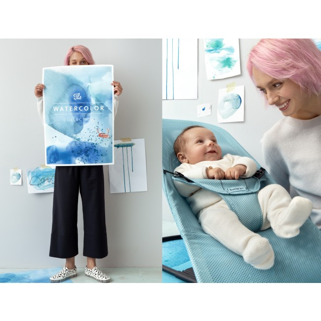 BabyBjörn Balance Soft Mesh - The Watercolor Collection - Sitterit - 51200845741 - 4