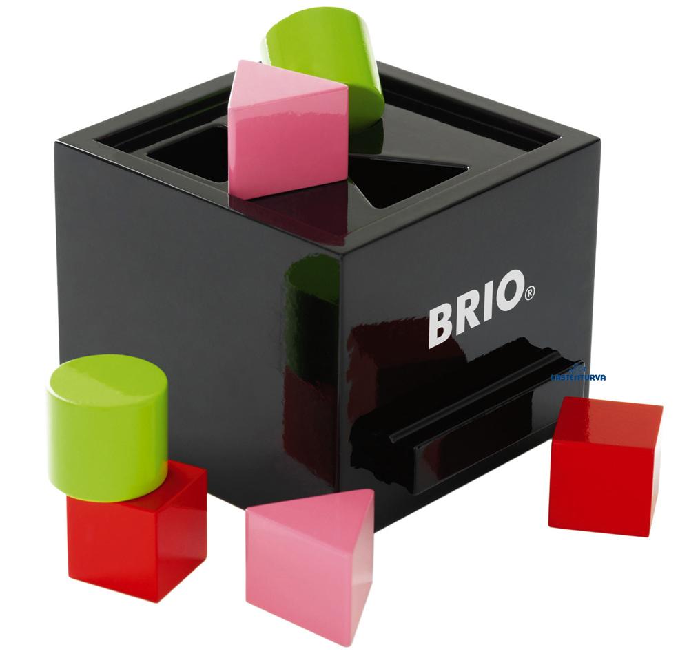 Brio palikkalaatikko musta  A T Lastenturva verkkokauppa