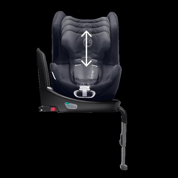 cybex sirona plus isofix turvaistuin 0 18 kg a t. Black Bedroom Furniture Sets. Home Design Ideas