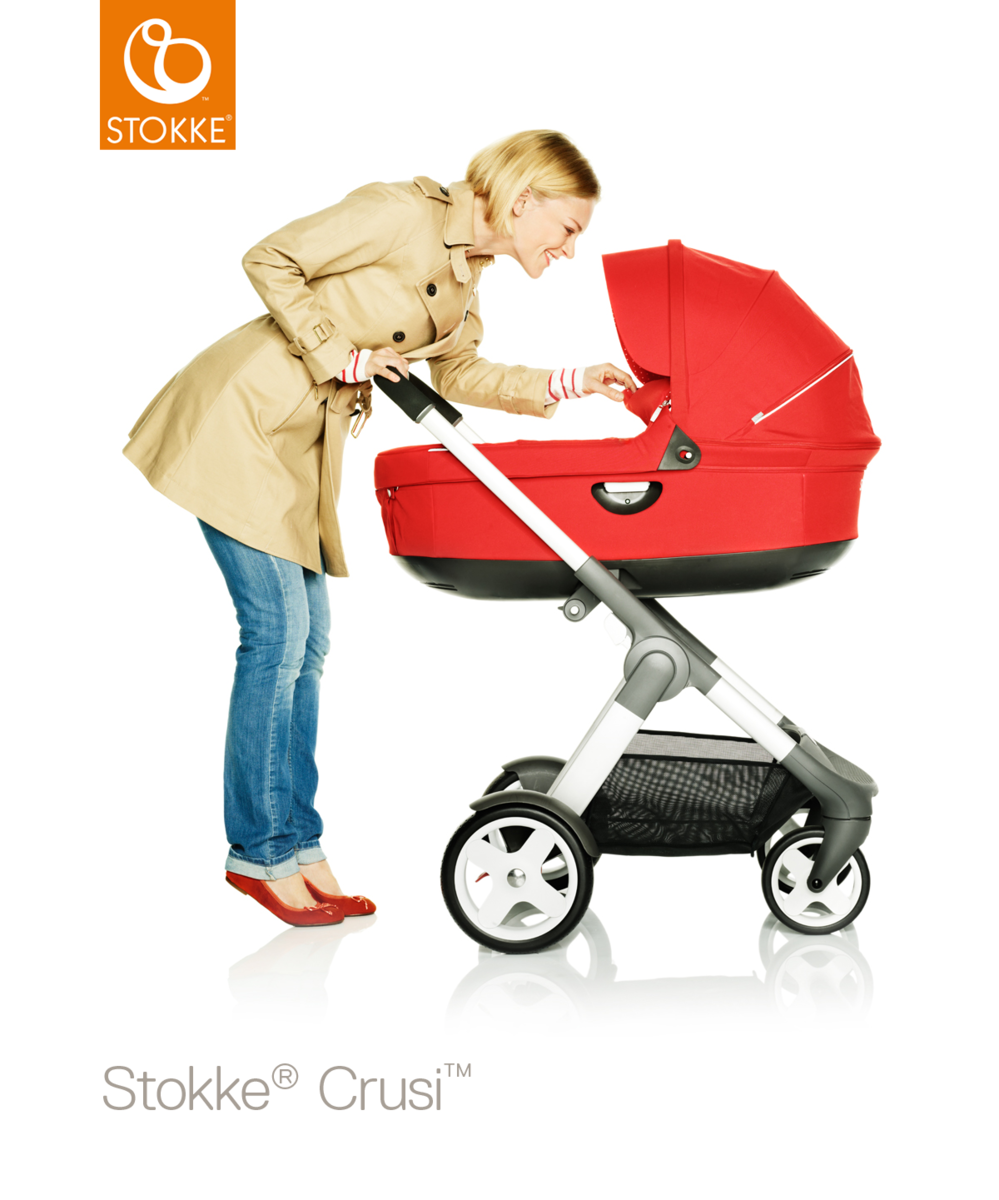 Stokke Crusi & Trailz Carry Cot vaunukoppa - Vaunukopat - 552210101 - 42