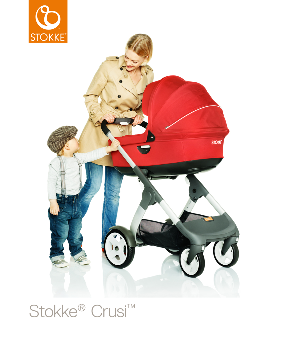 Stokke Crusi & Trailz Carry Cot vaunukoppa - Vaunukopat - 552210101 - 43
