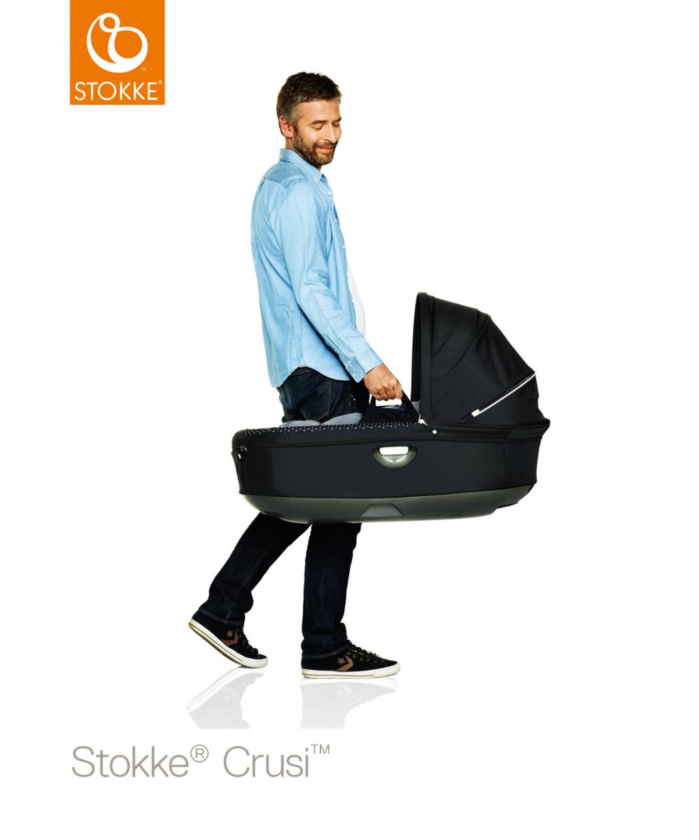 Stokke Crusi & Trailz Carry Cot vaunukoppa - Vaunukopat - 552210101 - 44
