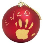 Baby Art joulupallo punainen - Joulu - 3220660238521 - 1