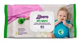 Libero Wet Wipes puhdistuspyyhkeet 64kpl - Kosteuspyyhkeet ja lisävarusteet - 7322540360561 - 2