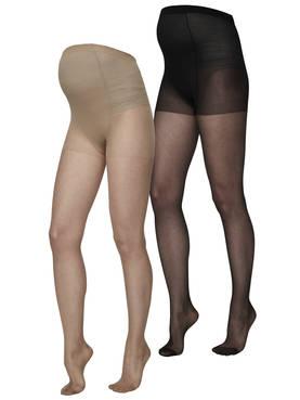 Mamalicious MlMalou Pantyhose 20 den Basic 2 pack sukkahousut - Sukkahousut ja legginsit - 588966321101 - 1