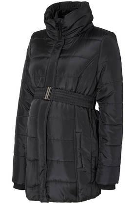 Mamalicious MlQuilty L/S Padded Jacket toppatakki odottajalle - Black - Takit - 32002144851 - 1