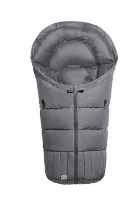 Fashion Melange Silber (harmaa) - Lämpöpussi turvakaukaloon - 6325685541 - 1
