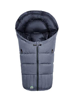 Fashion Melange Bleu (sininen) - Lämpöpussi turvakaukaloon - 6325685541 - 2