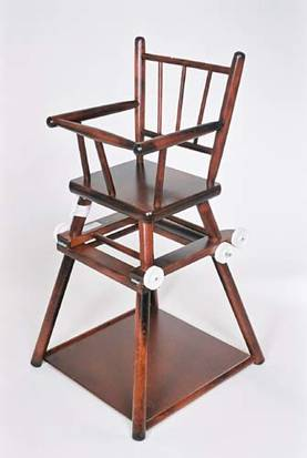 Perinteinen syöttötuoli, taittuva malli - Syöttötuolit - 454467567561 - 2