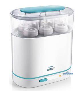 Philips Avent sähköinen steriloija - Steriloijat ja kuivaustelineet - 8710103536581 - 1
