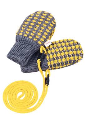 Reima Uninen villatumput - Keltainen - Lapaset, hanskat ja pidikkeet - 21003251401 - 1