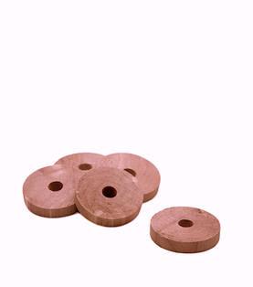 Ruskovilla punaseetrirenkaat 5 kpl - Vaatteiden suojaus - 8701 - 2
