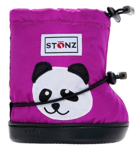 Stonz Booties töppöset 2017 - Panda Purple Plus - Töppöset - 200121421 - 1