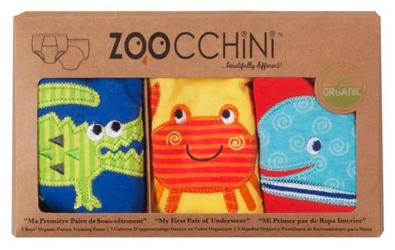 Zoocchini kuivaksiopetteluhousut - Ocean Friends, pojat - Koko 2-3 -v. - 6652851101 - 1