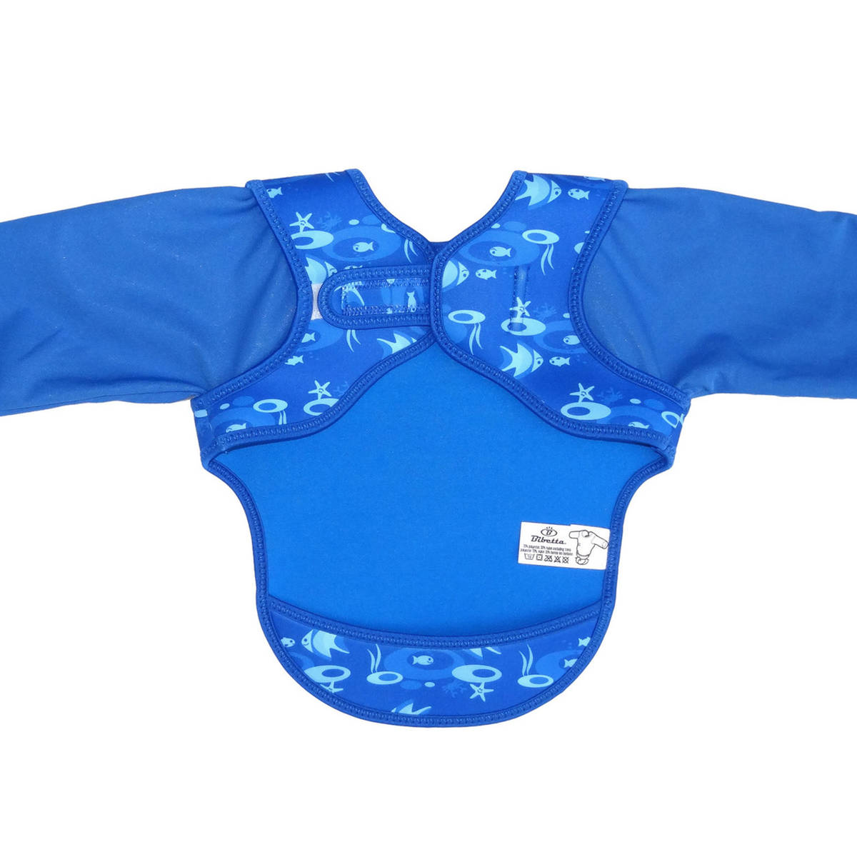Sininen - Ruokalaput hihoilla - 4547763202 - 4