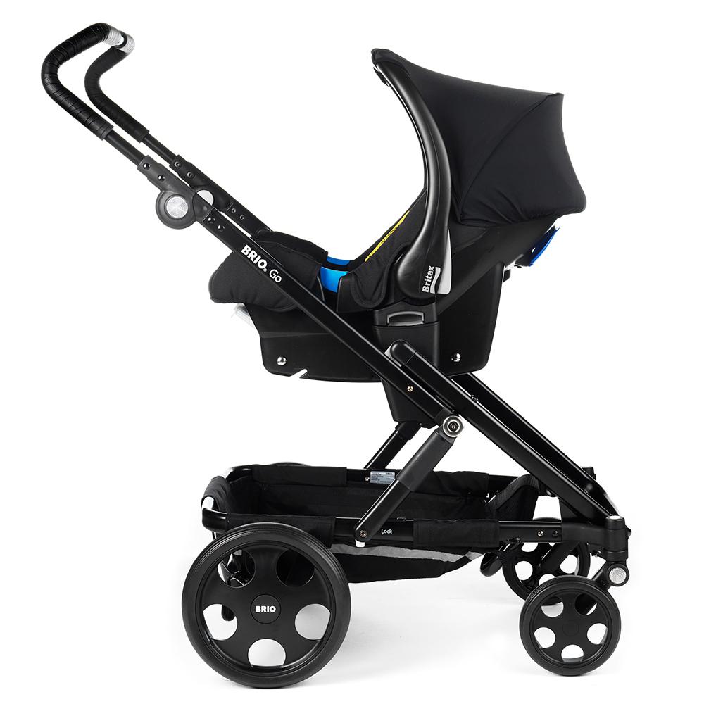 Baby Safe Plus kaukalo kiinnitettynä adaptereihin - Adapterit turvakaukaloille - 4000984109672 - 5