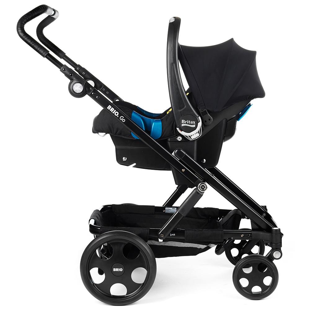 Baby Safe Plus kaukalo kiinnitettynä adaptereihin - Adapterit turvakaukaloille - 4000984109672 - 6