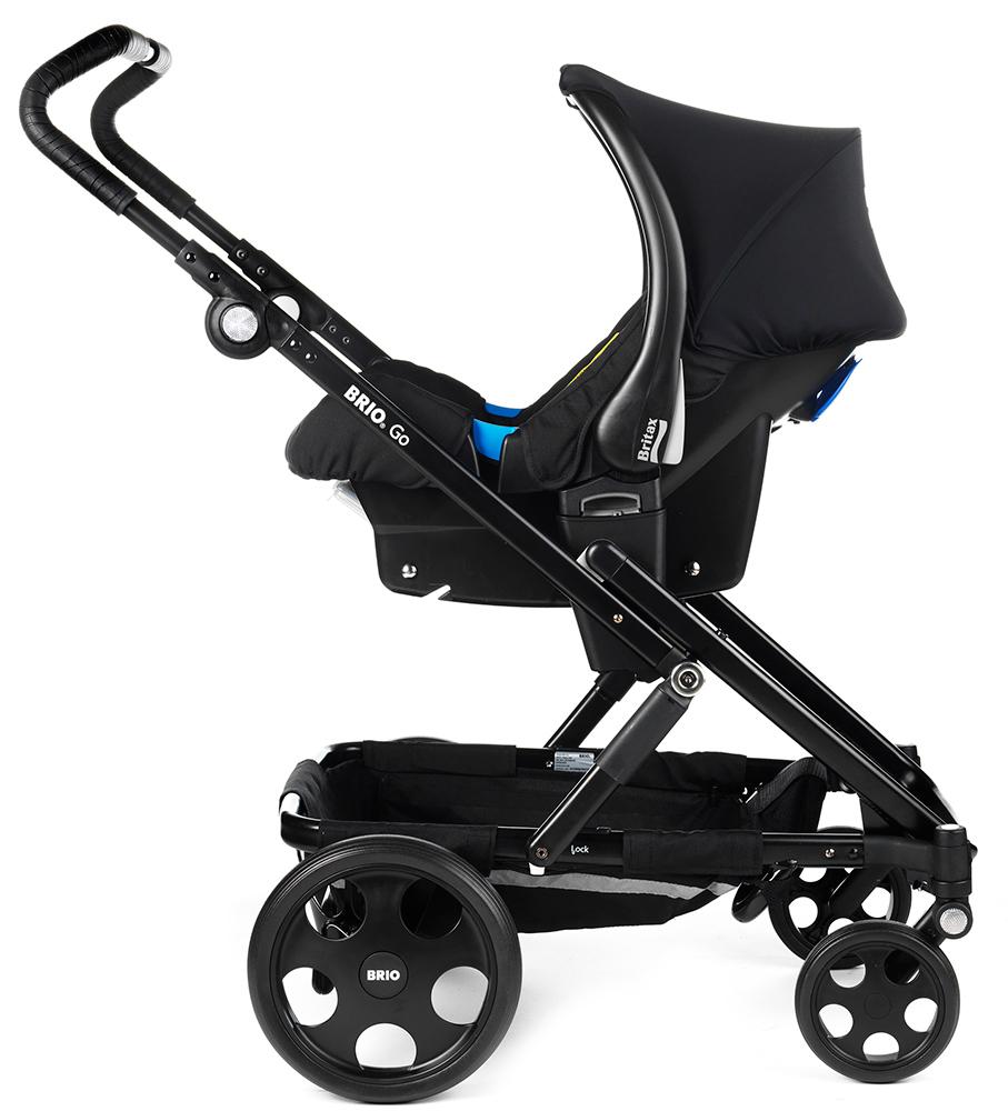 Baby Safe Plus kaukalo kiinnitettynä adaptereihin - Adapterit turvakaukaloille - 4000984109672 - 7