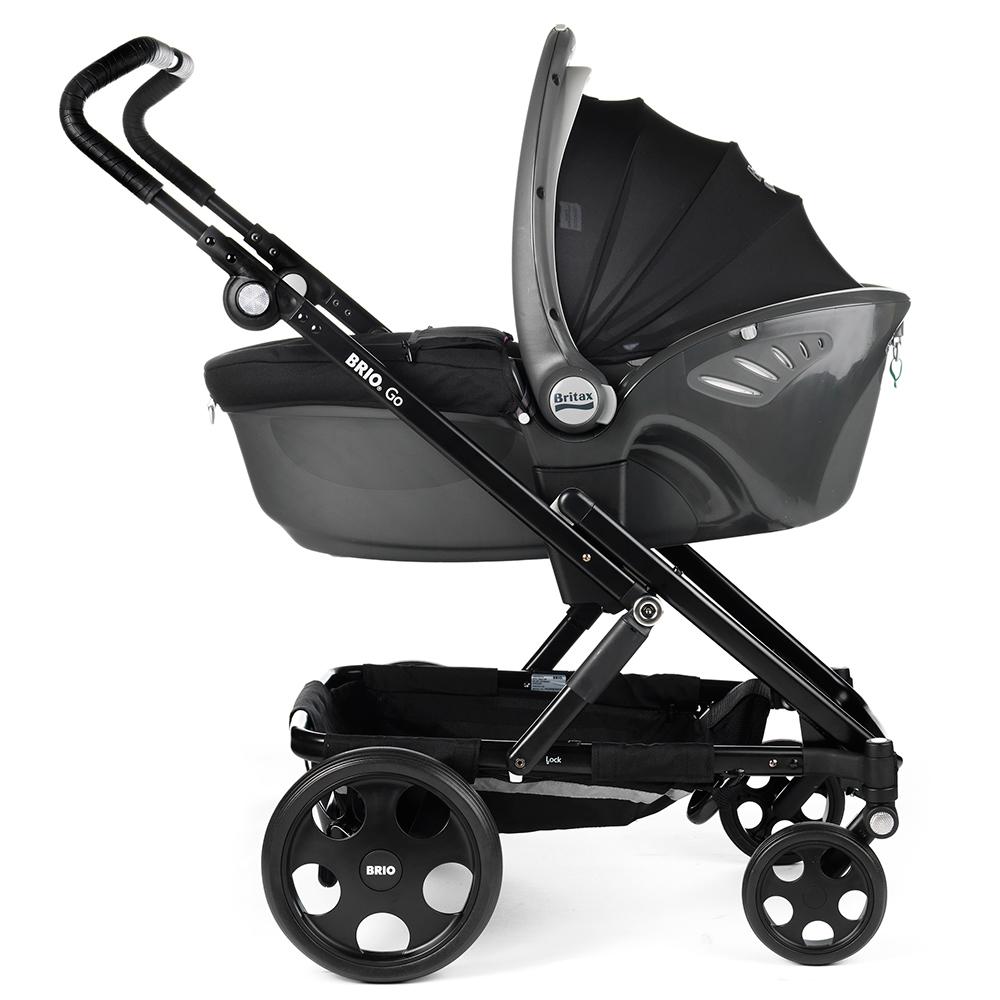 Baritax Baby Safe Sleeper kiinnitettynä adaptereihin - Adapterit turvakaukaloille - 4000984109672 - 8