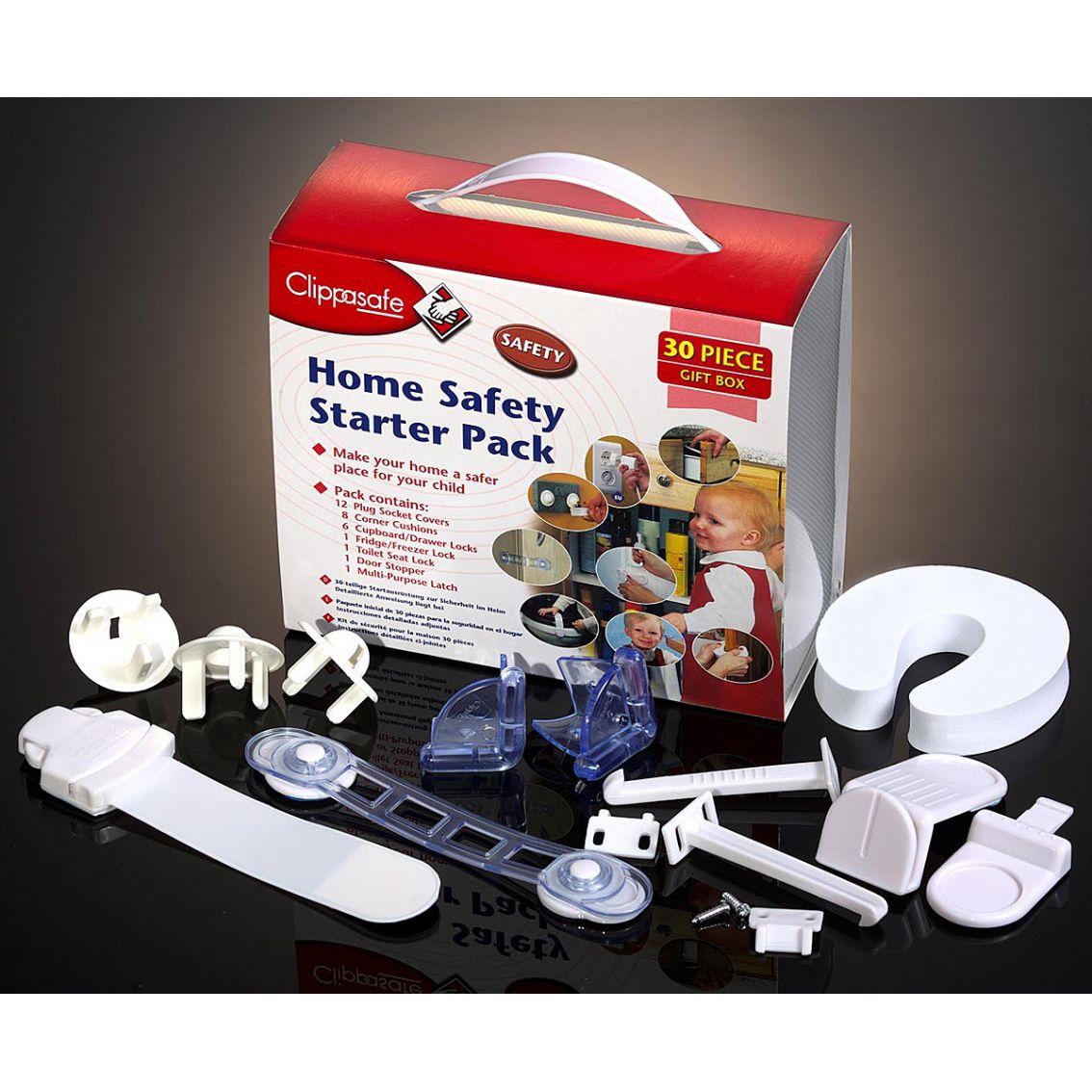 clippasafe home safety starter pack turvatuotteiden. Black Bedroom Furniture Sets. Home Design Ideas