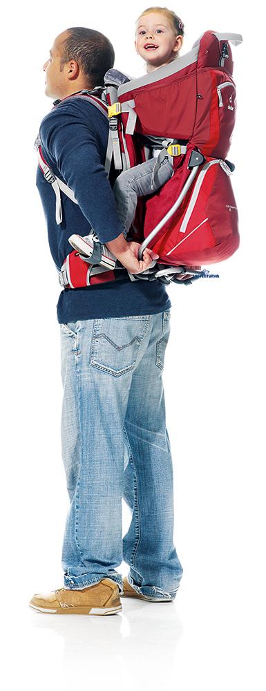 Deuter Kid Comfort 2 lastenkantorinkka -15 - Lastenkantorinkat ja rinkat - 44443322 - 13