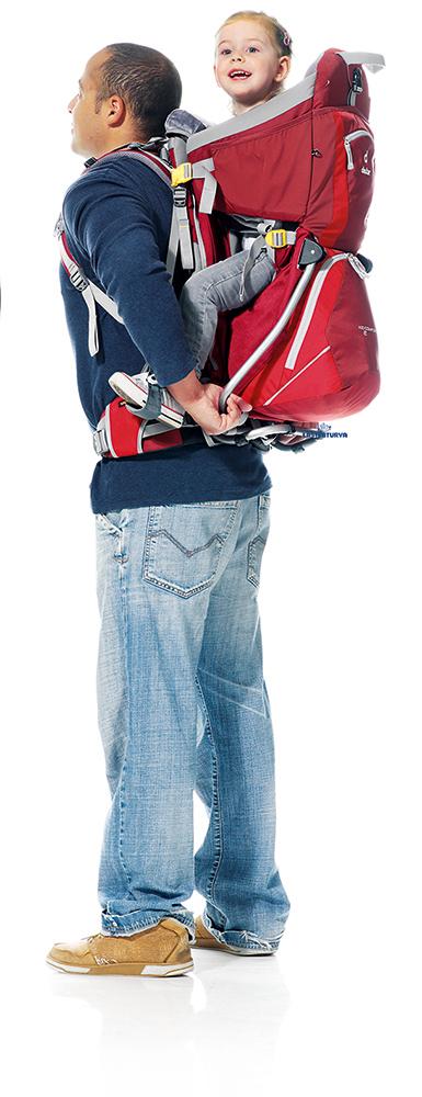Deuter Kid Comfort 2 lastenkantorinkka -15 - Lastenkantorinkat ja rinkat - 44443322 - 17