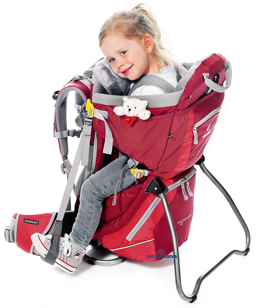 Deuter Kid Comfort 2 lastenkantorinkka -15 - Lastenkantorinkat ja rinkat - 44443322 - 7