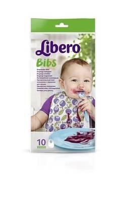 Libero kertäkäyttöinen ruokalappu 10 kpl - Ruokalaput - 7322540232172 - 3