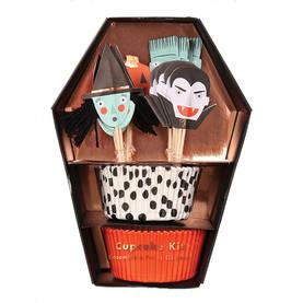 Meri Meri kuppikakkuvuoka 24kpl - Halloween - 636997232782 - 1