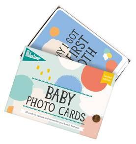 Milestone Baby Photo Cards kortit (ENG) - Kortit - 8718564762792 - 1