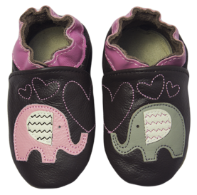 Rose et Chocolat ClassicZ nahkatossut - Elephant Kiss Brown - Tossut - 6232001412