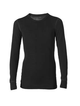 Ruskovilla aluspaita silkkivilla musta - Silkkivilla - 323235535212 - 2