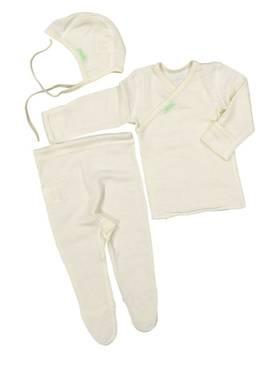 Ruskovilla vauvan ensisetti 50 cm - Silkkivilla - 6414144000002 - 1