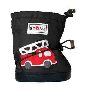Stonz Booties töppöset  - Fire Truck Black Plus - Töppöset - 33625025412 - 1