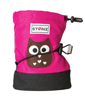 Stonz Booties töppöset - Owl - Fuchsia - Töppöset - 4444600322 - 1