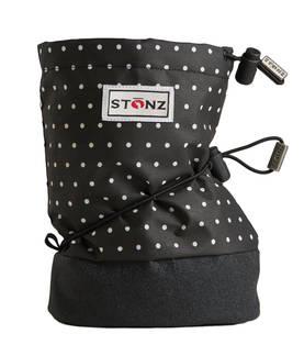Stonz Booties töppöset - Polka Dot - Black & White - Töppöset - 6595410032 - 1