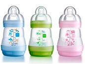 Vaaleansininen, vihreä ja vaaleanpunainen - Tuttipullot - 9001616003202 - 2