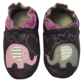 Rose et Chocolat ClassicZ nahkatossut - Elephant Kiss Brown - Tossut - 6232001412 - 1