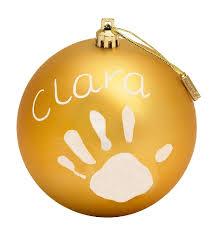 Baby Art joulupallo kulta - Joulu - 3220660238538 - 1