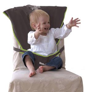 Koo-di  matkasyöttötuoli tuoliin harmaa - Matkasyöttötuolit - 5060023800983 - 1