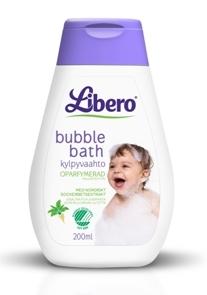 Libero Bubble Bath kylpyvaahto 200 ml - Pesuaineet ja rasvat - 7322540416763 - 1